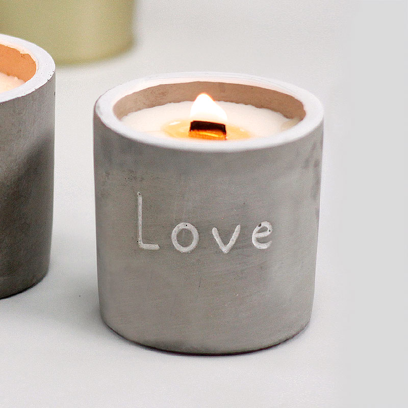 Love Candle - Purple Fig & Casis