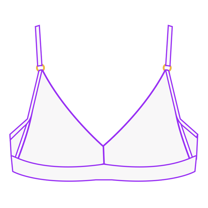 lingerie comfortable bralette fitted